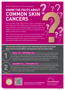 Common Skin Cancers