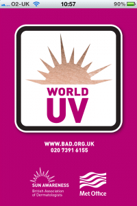 World UV app