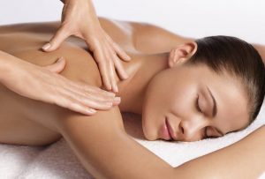 Relaxing massage, women having treatments at The Spa Therapy Room