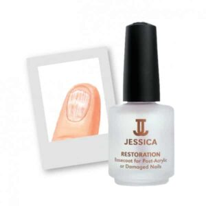 Restoration Base Coat for Damaged Nails - Thin and weak, lacking luster, will not grow