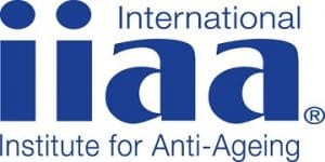 International Institute for Anti-Ageing Logo. You can find iiaa treatments & products at The Spa Therapy Room