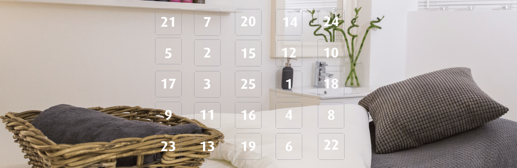 The Spa Therapy Room Advent Calendar